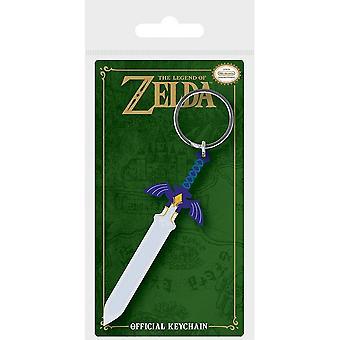 The Legend Of Zelda Master Sword Keyring