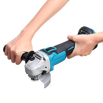 Brushless Electric Angle Grinder Machine, Woodworking Power Tool