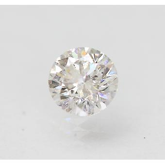 معتمد 0.56 قيراط D SI2 جولة رائعة المحسنة الطبيعية فضفاضة الماس 5.26mm