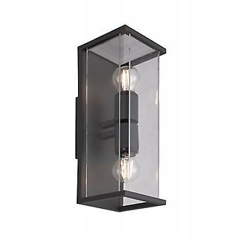 Mantra Meribel Wall Lamp 2 Lights Graphite