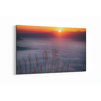 Gemälde - Wolkenmeer - Sonnenuntergang - 90x60cm