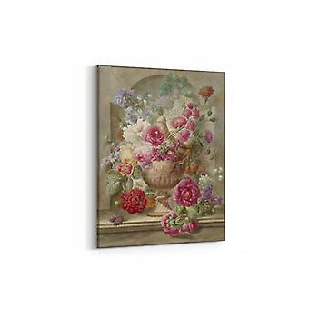 Malerei - Vase mit Blumen - 70x100cm