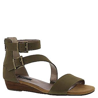 ARRAY Womens Daytona Leather Closed Toe Casual Platform Sandals