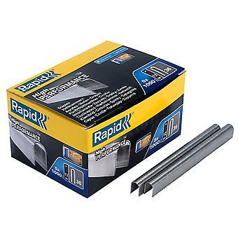 Rapid 11885110 No. 36 12mm Galvanised Staples Pack of 5000