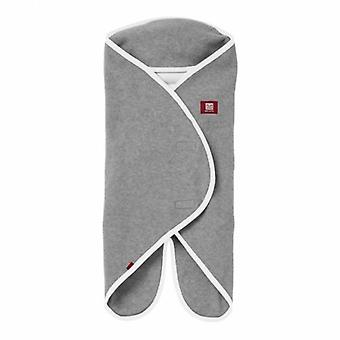 Red Castle Babynomade Double Fleece Blanket Grey and White 0 to 6 Months