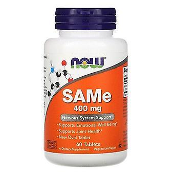 Now Foods, SAMe, 400 mg, 60 Tablets