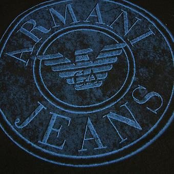 Armani Jeans Circle Logo S/s T Shirt Black