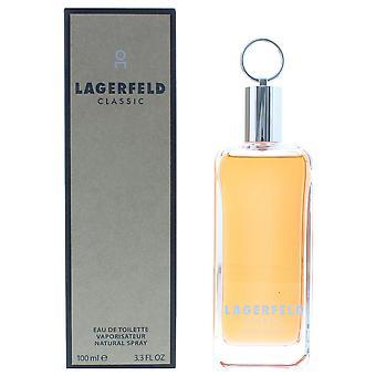 Karl Lagerfeld Classic Eau de Toilette 100ml Spray