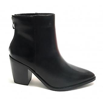 Women's Shoes Gold&gold Texan Ankle Boot Tc 75 In Ecopelle Color Black D20gg37