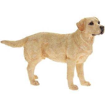 Golden Labrador Standing Dog Figurine Ornament