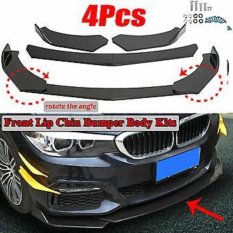 4 KPL hiilikuitu näyttää etujakaja puskurin huuli Mazda CX-30