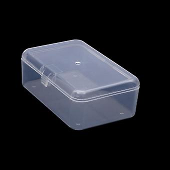 Clear Lidded Small Plastic Box