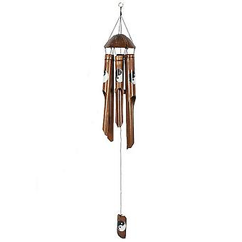 Something Different Yin Yang Bamboo Wind Chime