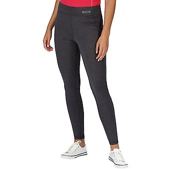 Regatta Femei Josie Gibson Holeen Active Outdoor Walking Leggings - Seal Grey