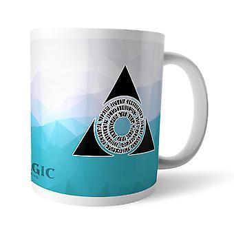 Magic The Gathering GOR Fractal Azorius Merchandise Mug Coffee Tea Cup