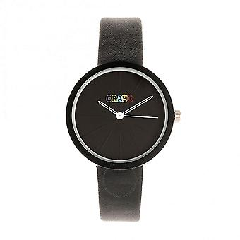 Crayo Blade Quartz Black Dial Watch CRACR5402
