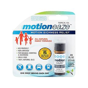 Motioneaze motion sickness relief topical oil, 20 applications, 0.08 oz