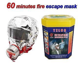 60 minuuttia Lämpösäteilypalon pakonaamari