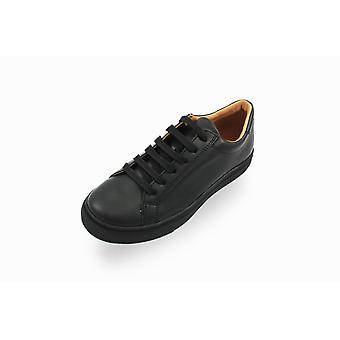 Froddo black unisex lace-up school shoes