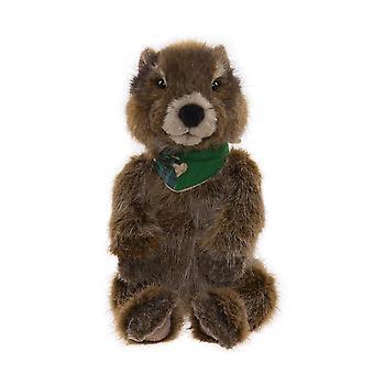 "Charlie Bears Woodchuck - 15.5"" - Groundhog - 2021 Bearhouse Plush"