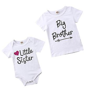 Perhe Matching Vauvan Lyhythihaiset Rompers Body-paita