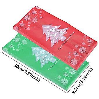 Merry Christmas Plastic Packing Bag