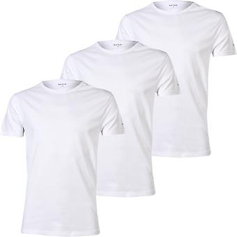 Paul Smith 3-Pack PS Rundhals-T-Shirts, weiß