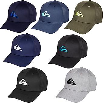 クイクシルバーメンズ数十年スナップバック調整可能な野球帽帽子