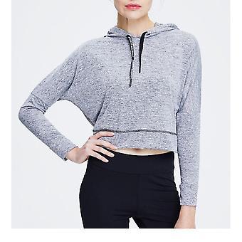 SPORX Women's Active Hoodie Silver