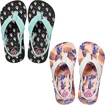 Reef Girls Kids Little AHI Summer Beach Pool Holiday Sandals Thongs Flip Flops