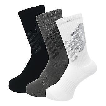 New Balance Big Logo 3 Pack Crew Socks - Multi