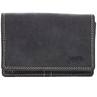 Arrigo 02C-337B-RFID, Unisex Adult Wallet, Black (Black (Zwart Zwart)), 3x9x12.5 cm (B x H x T)