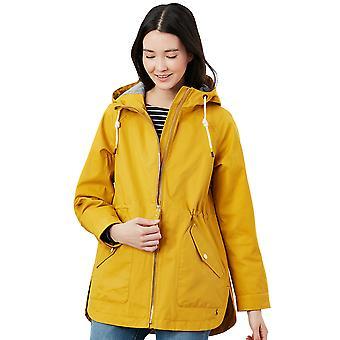 Joules Kvinders Shoreside Hætteklædte Vandtæt Jacket Coat