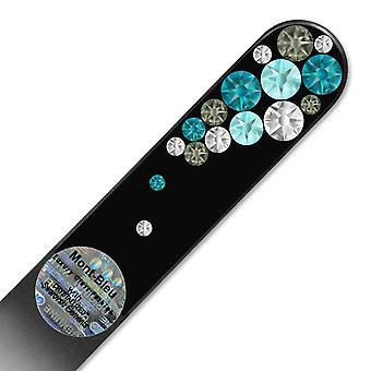Swarovski crystal nail file BB-M - Turquoise