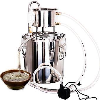 Rustfritt stål husholdningsvin bryggemaskin, gjæring dampet hydrosål,