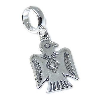Thunderbird Perle Sterling Silber Charm .925 X 1 Native American Thunderbirds - 15356