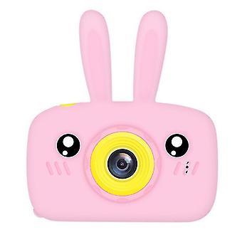 Rabbit pink portable full-hd 1080p digital mini camera for kids child az966
