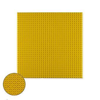 डबल तरफा आधार प्लेटें प्लास्टिक छोटी ईंटों संगत निर्माण खिलौने