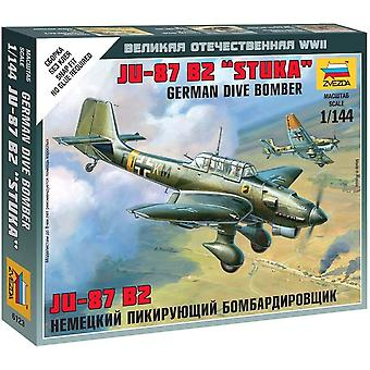 Zvezda Z6123 Junkers Ju-87 Stuka Model Kit
