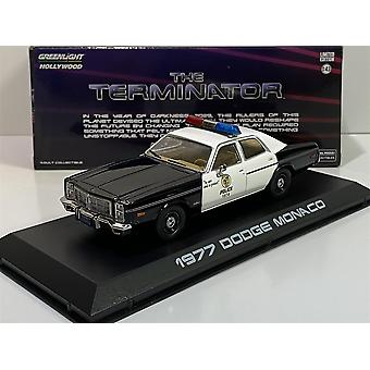 The Terminator 1977 Dodge Monaco Met Police 1:43 Greenlight 86534