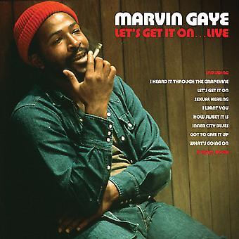 Marvin Gaye – Låt oss få det på: Live Röd Vinyl