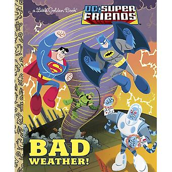 Bad Weather DC Super Friends by Frank Berrios & Illustrated by Ethen Beavers