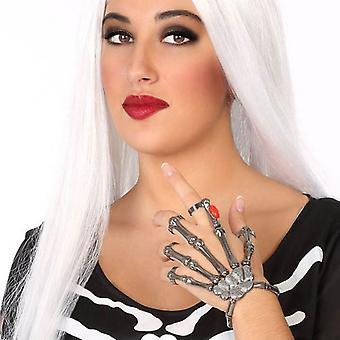 Handschuh Skelett Metall