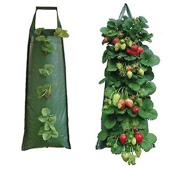 Wall-mounted Planting Bag Vertical Three-dimensional Multi-port Plant Bag(Style1)