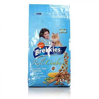 Brekkies Fish Croquettes - Cat - 1.5 Kg