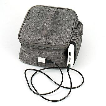 Heated Lunch Bag with Usb Food Warming Tote Lunch Bag Food Cooking Reheating 5V Lunch Box