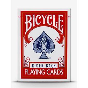 1 PCS Kolo Dvojitě červená záda Bez obličeje Hrací kartyMagické karty Speciální rekvizity