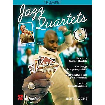 Jazz Quartets (Bert Lochs) Trumpet, Book with CD, De Haske Publications