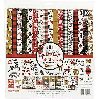 "Echo Park Collection Kit 12""X12"" - Un Leñador De Navidad"