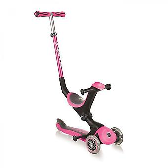 Deluxe Convertible Scooter - Pink